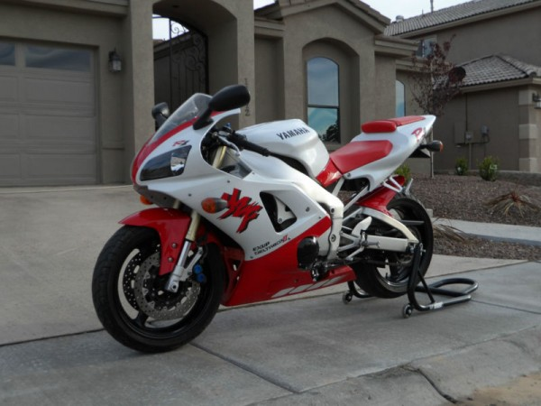 1998 yamaha r1 with less than 5000 miles rare sportbikes for sale. Black Bedroom Furniture Sets. Home Design Ideas