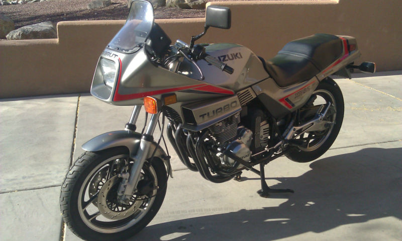 How rare are these things?! 1983 Suzuki XN85 Turbo