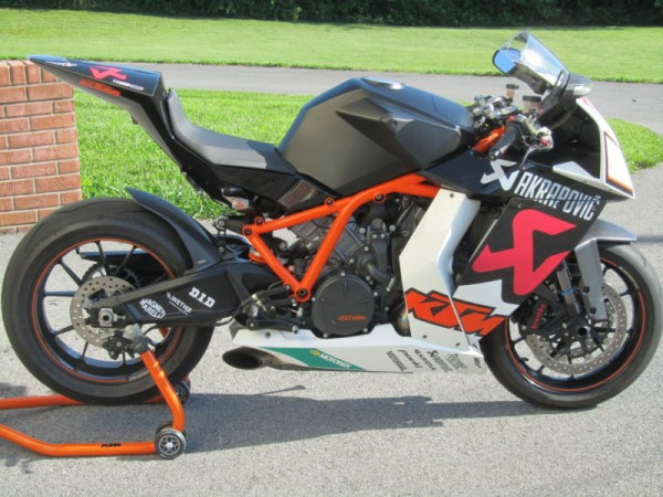 2010 KTM RC8R Black For Sale