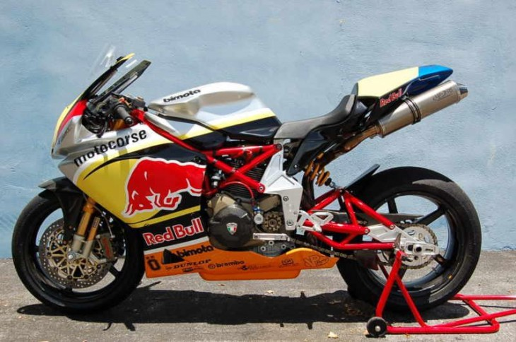 Track Day Heaven: 2004 Bimota DB5 race bike