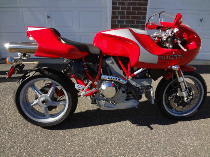 2002 Ducati MH900e #1450 with 566 Miles in New Jersey
