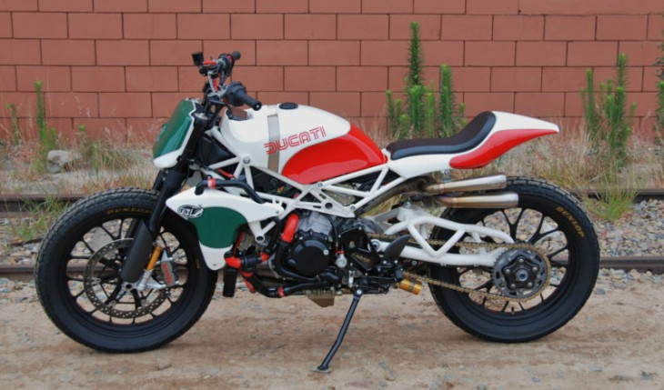 2008 Ducati Desmosedici Roland Sands Flat Tracker For Sale