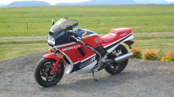 Picturesque 1986 Honda VF1000R For Sale in Washington
