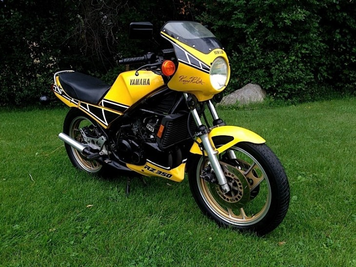 Legalized Smoking: 1984 Yamaha RZ350 Kenny Roberts Edition in Utah