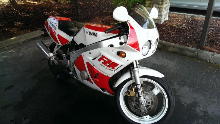Work in Progress:  1988 Yamaha FZR400