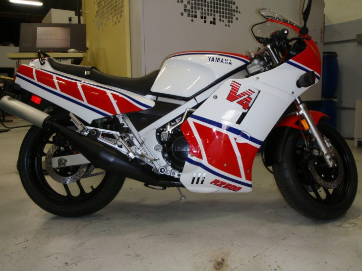 Californication: One owner 1984 Yamaha RZ500 with CA title!
