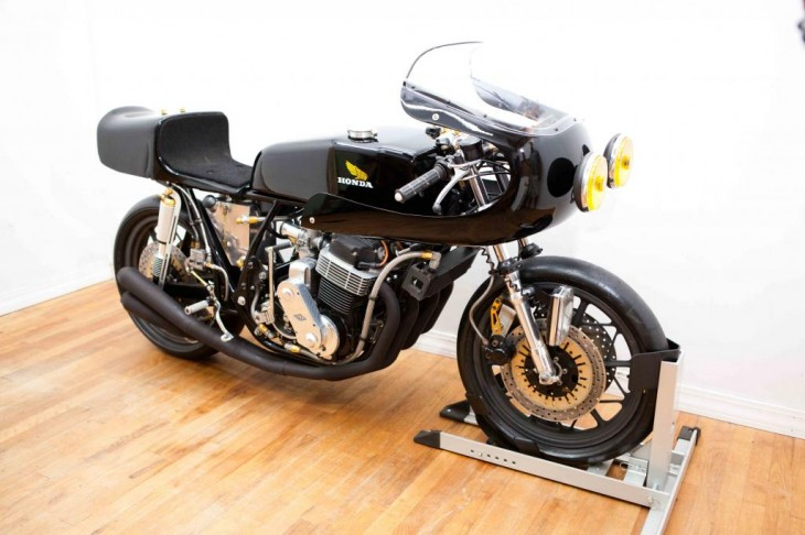 Engineering Art:  1975 Honda CB750 Yoshimura Endurance Racer