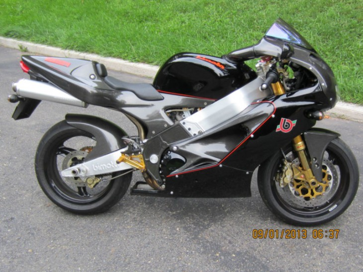 Could I Get That With Some Extra Carbon Fiber Please?:  2000 Bimota SB8R Special