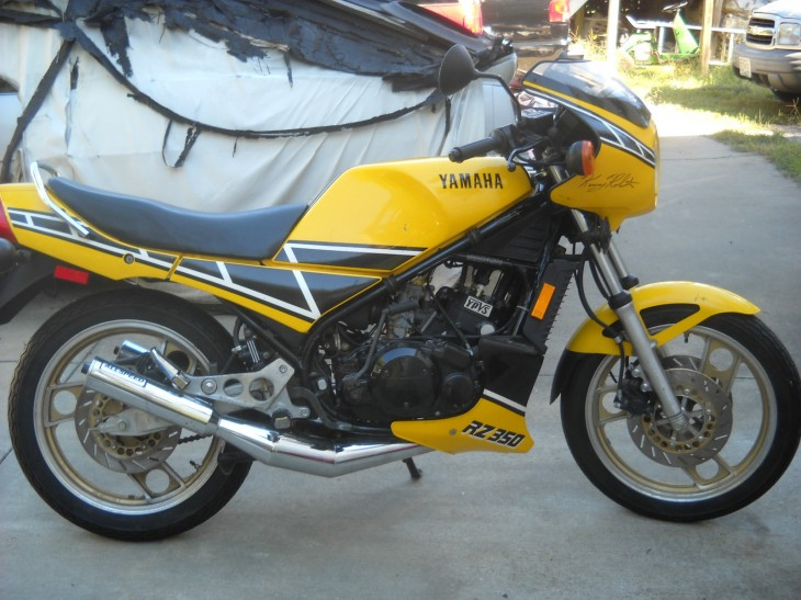 Even kenny would approve 1984 yamaha rz350 rare for Yamaha rz for sale