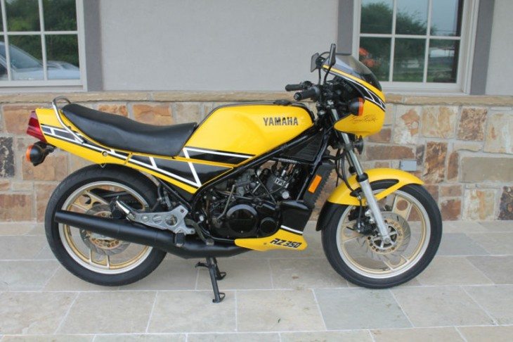 4100 Mile Yamaha RZ350 available in Texas