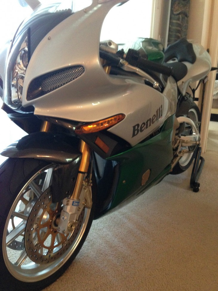 Pasta Chow Mein: 2003 Benelli Tornado Tre Limited Edition