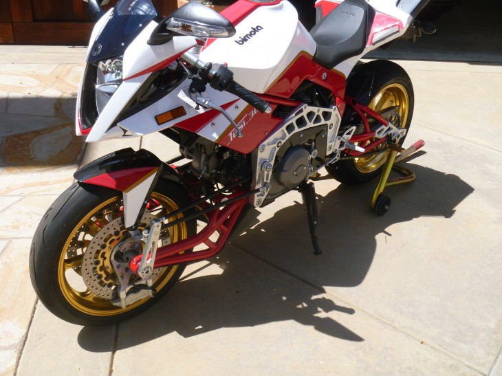 """Emotion Technology"":  2008 Bimota Tesi 3D"