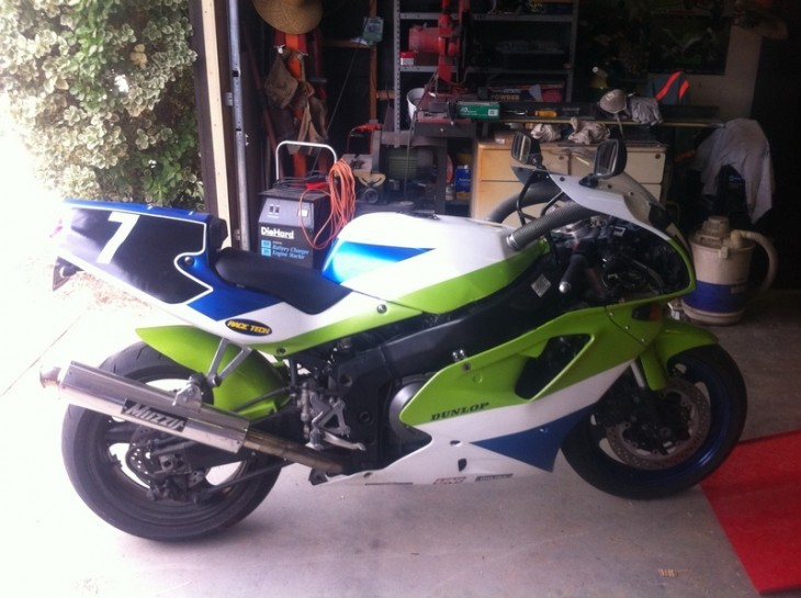 Deal Of The Year?  1991 Kawasaki ZXR750R