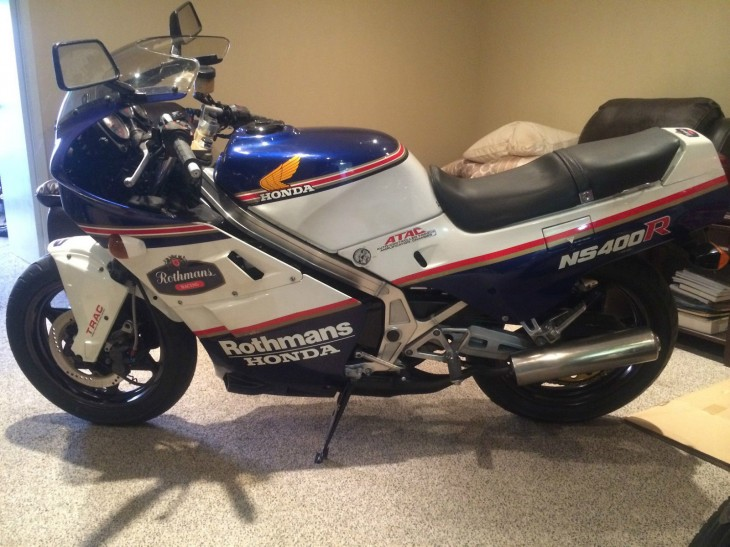 1985 Honda NS400R Rothmans Edition