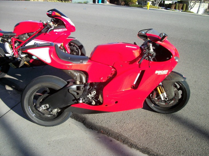 2 Ducs with a Combined 46k Miles:  999R + DD16!