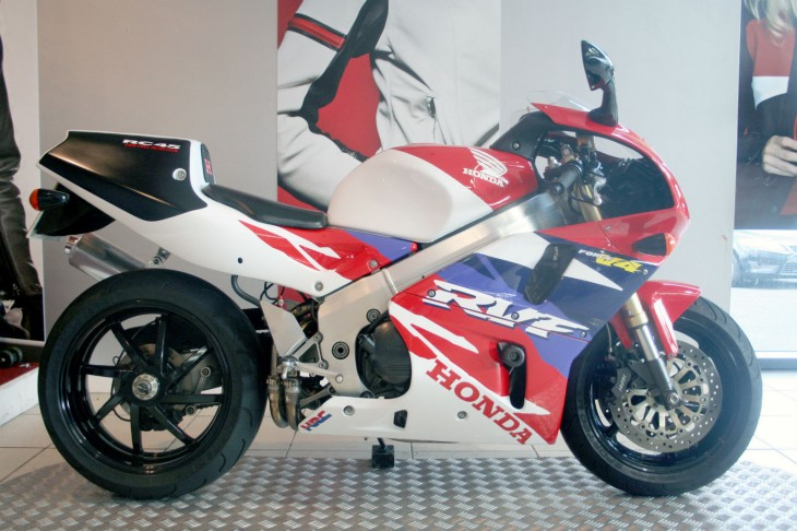 A Honda RC45 To Be Ridden