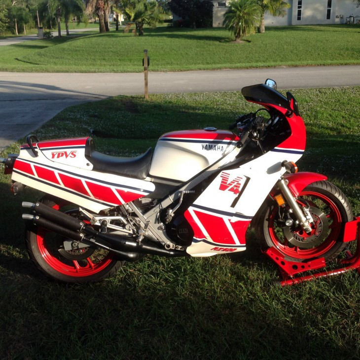 2 Yamaha RZ500′s:  A Really Nice One to Ride, Another Still in the Crate!