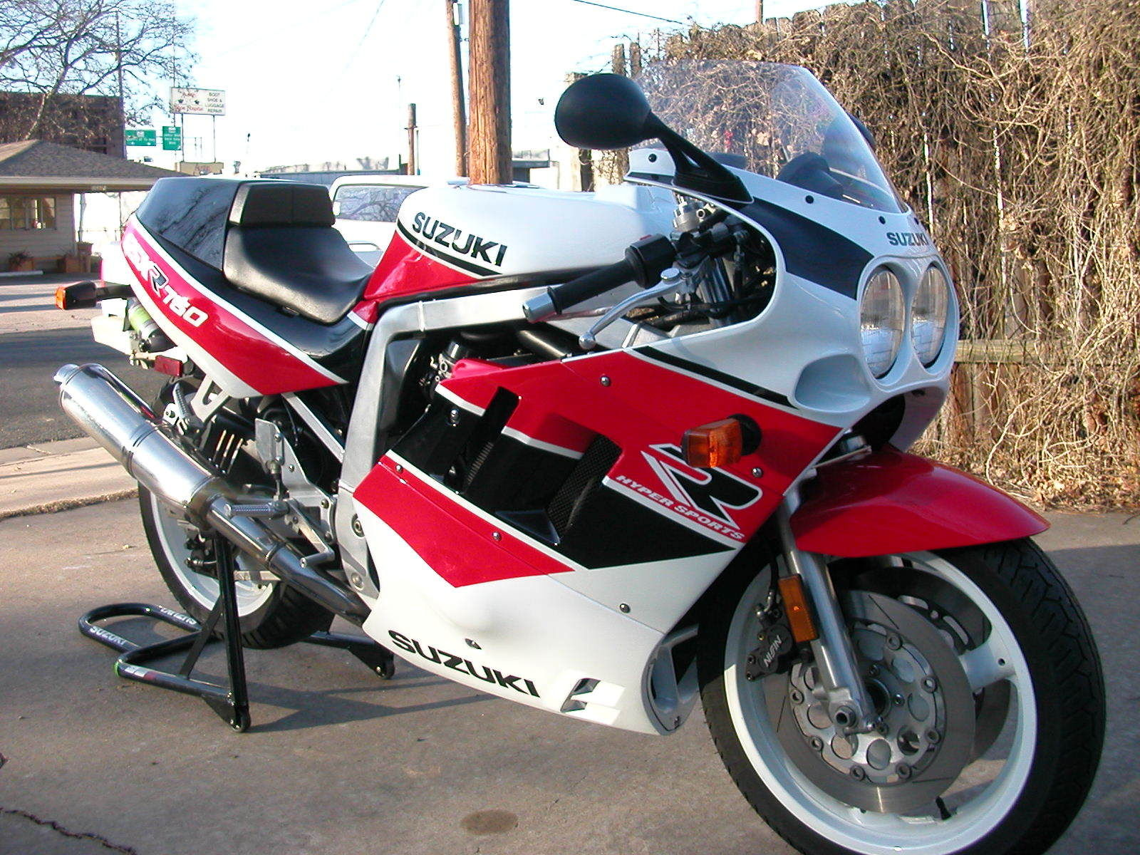 one owner 1990 suzuki gsx r 750 with just 2600 miles rare sportbikes for sale. Black Bedroom Furniture Sets. Home Design Ideas