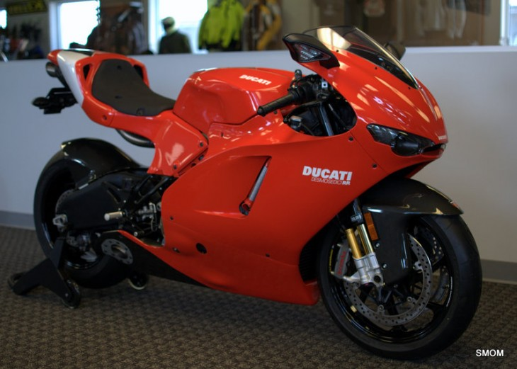 8 Mile Ducati Desmosedici RR in San Francisco Bay Area