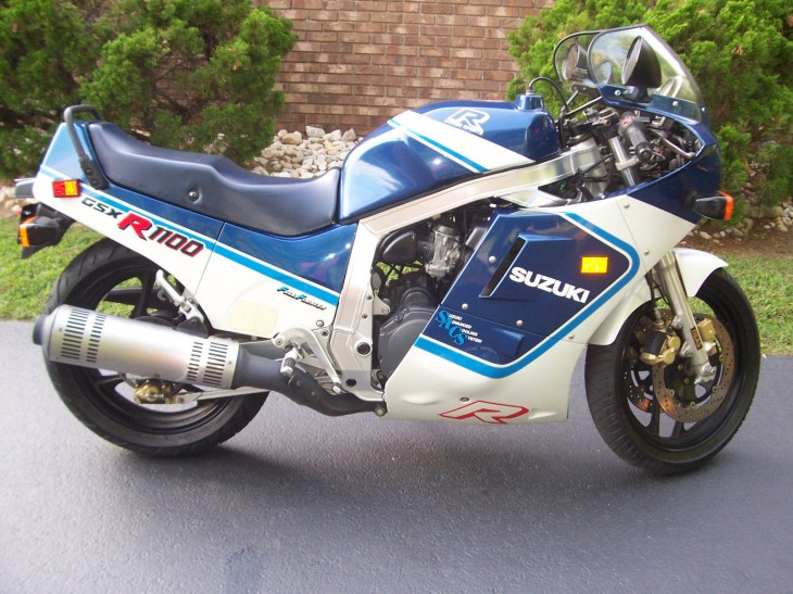 Collection Worthy: 1987 SUZUKI GSX-R 1100