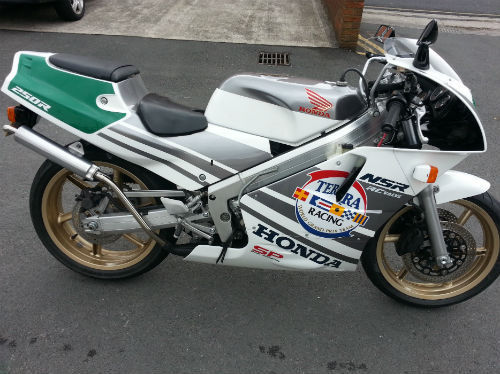 Have You Imported a 25+ Year Old Motorcycle?  1989 Honda NSR250 SP Terra Racing