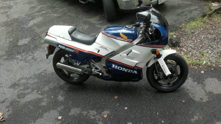 Ending Soon:  Titled 1986 Honda NS400R in Maryland