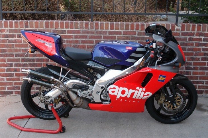 Recent Sale:  Aprilia RS250 Loris Reggiani