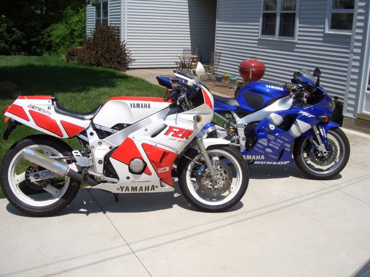 Little Bike, Big Fun: 1989 Yamaha FZR 400