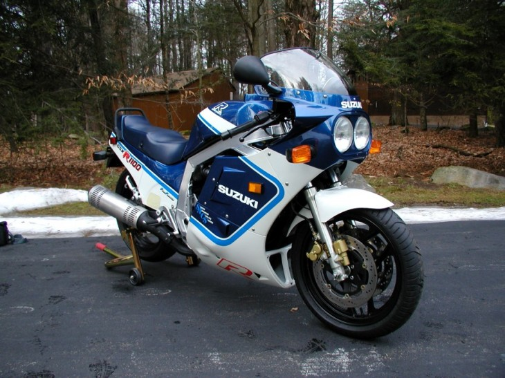 Collection Worthy II: 1987 Suzuki GSXR 1100