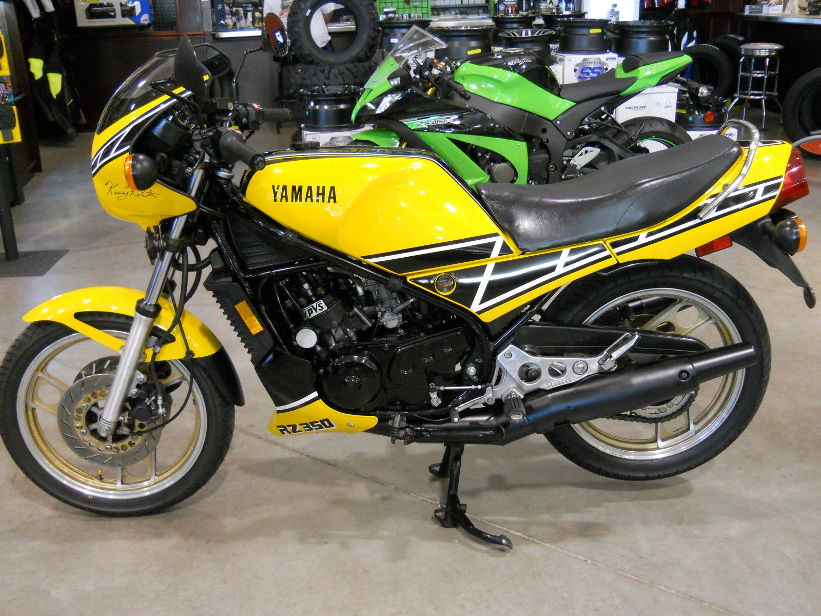 Super clean 1985 yamaha rz350 in florida rare sportbikes for Yamaha rz for sale