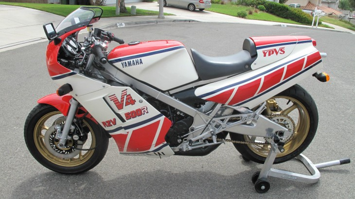 Restored and Extensively Upgraded:  1985 Yamaha RZV 500R in Caliornia