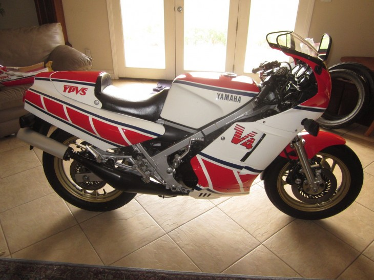 Another Sweet 1985 Yamaha RZ500 in the House!