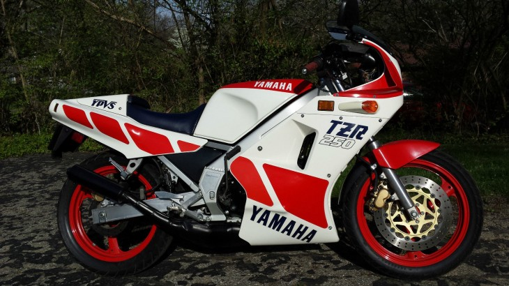 1987 Yamaha TZR250 for sale