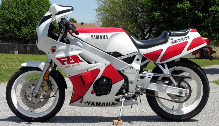 Small Bore Fun:  1988 Yamaha FZR400