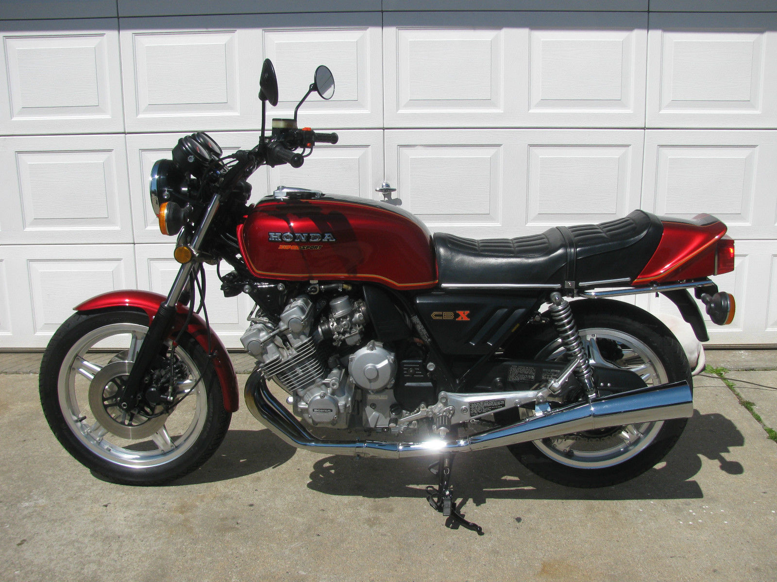 1979 honda cbx1000 with 3700 miles in new york rare. Black Bedroom Furniture Sets. Home Design Ideas