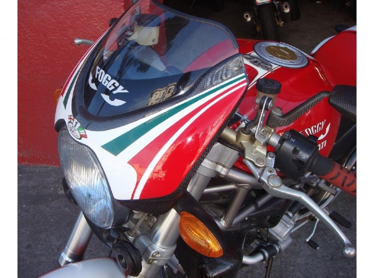 "Featured Listing:  2002 Ducati Monster ""Foggy"" S4 #220/300 available in California"