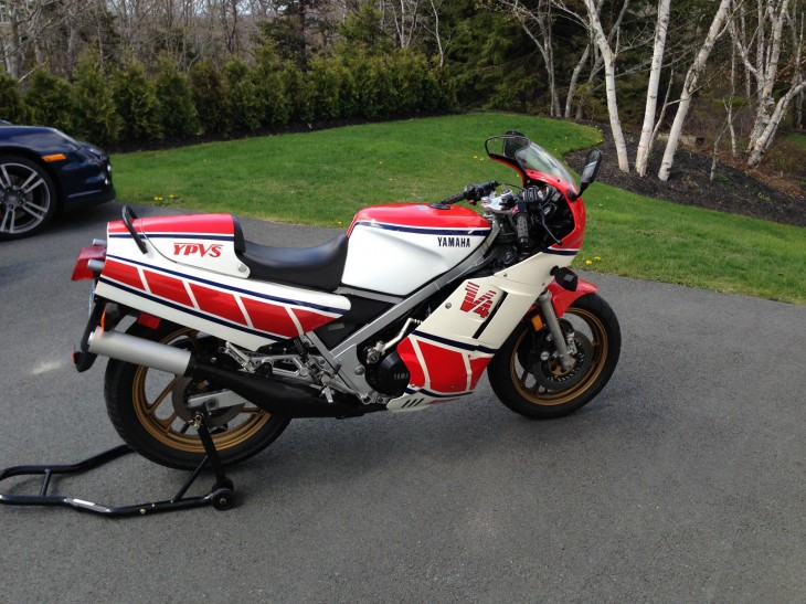 Borderline: Stock 1985 Yamaha RZ500 in Canada