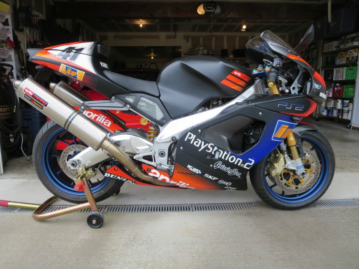 2003 Aprilia RSV1000R Mille Haga for sale