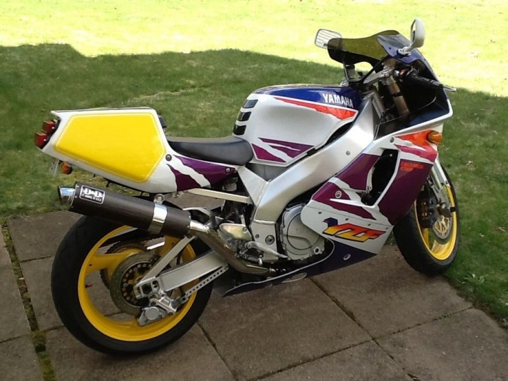 One Owner 1994 Yamaha YZF750R with 8,000 Miles