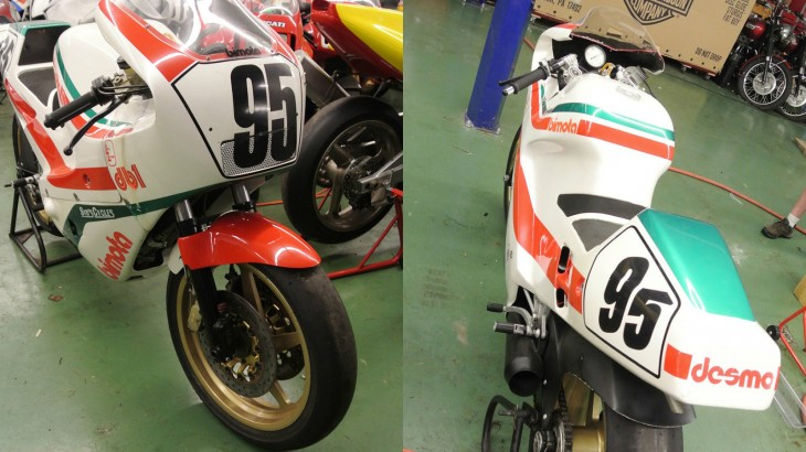 1986 Bimota DB1R Front and Rear