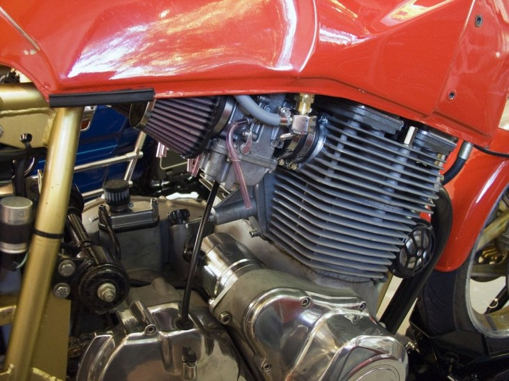 1988 Laverda SFC 1000 Engine