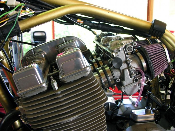 1988 Laverda SFC 1000 Engine2