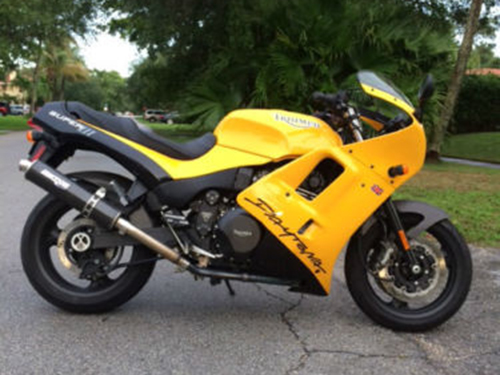 Out of the Ashes: 1995 Triumph Daytona Super III