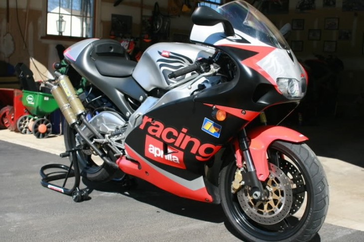 Blowing Smoke: 2001 Aprilia RS250 for Sale