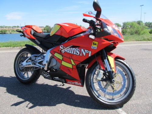 Size Doesn't Matter: Titled 2009 Aprilia RS125 in Colorado
