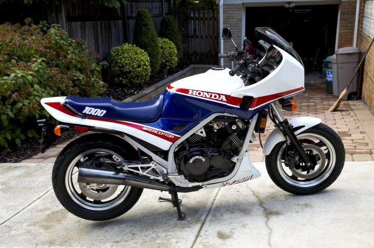 Time Capsule: 1984 Honda VF1000F Interceptor
