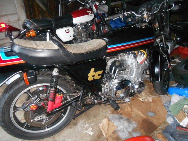 1978 Kawasaki Z1R TC R Side