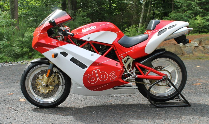 Simplify, and Then Add Lightness: 1993 Bimota DB2