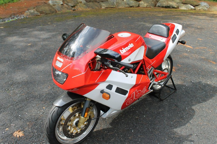 1993 Bimota DB2 L Side Front