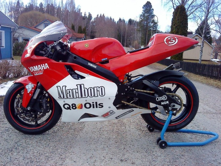 2000 Yamaha YZR500 Replica L Side